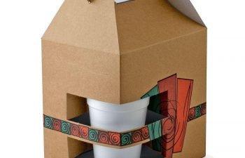 How cardboard food boxes keeps the food fresh and warm